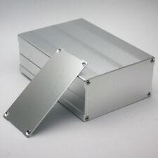 150*105*55mm Silver Aluminum Instrument Box PCB Enclosure Electronic Separable