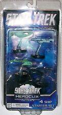 Star Trek Tactics II 4 Ship Starter Set Heroclix WizKids in Package