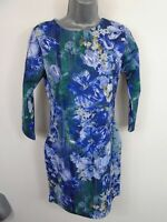 NEW WOMENS BOOHOO BODYCON SHORT DRESS FLORAL DESIGN SUMMER STYLE SIZE UK 12