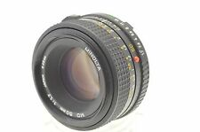 Minolta MD F1.7 50mm Prime Lens easy converts to NEX M4/3 4/3 Sony A etc