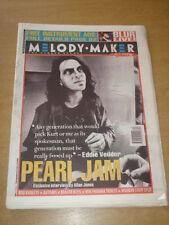 MELODY MAKER 1994 MAY 21 PEARL JAM BLUR BOO RADLEYS BEASTIE BOYS WONDER STUFF