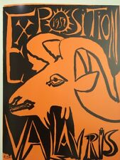 Pablo Picasso Poster,Tipped In, Offs.Lithograph,1971 Nr11, Vallauris 1952