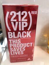 Carolina Herrera 212 VIP Red Black This Product Saves Lives  For Men