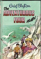 THE ADVENTUROUS FOUR AGAIN! Enid Blyton ~ HC 1984 Illus