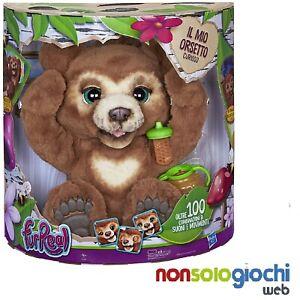 Hasbro FurReal-Cubby Il Mio Orsetto Curioso E4591103 -nuovo- Italia