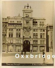 Vintage Outdoor Clock Photo 880 Chronos Sun Dial Venice Italy