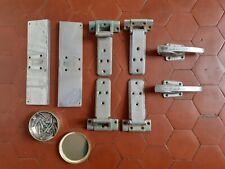 ancienne poignées serrure porte frigo glaciere meuble metier cuisine industriel
