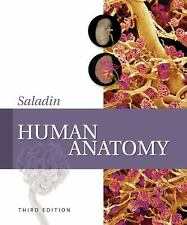 Human Anatomy by Kenneth S. Saladin (Hardcover) Third Edition