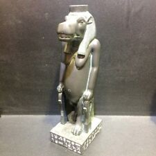 "8"" Egyptian Statue Taweret Goddess Hippo Ancient Egypt Sculpture Figure Faience"