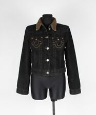 TRUE RELIGION Corduroy Fur Women Jacket Size L