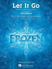 Let It Go from Frozen Sheet Music Piano Vocal Idina Menzel NEW 000128606