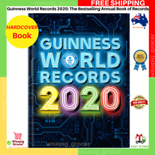 Guinness World Records 2020 | HARDCOVER BOOK | BRAND NEW | FAST FREE SHIPPING AU