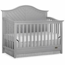 Dream On Me Ella 5 in 1 Convertible Crib in Pebble Gray