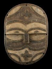 Ancien Masque Africain Téké Tsayi 34 cm RD Congo Ex Zaire Art Primitif 17063