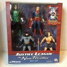JUSTICE LEAGUE NEW FRONTIER DC DIRECT 4-PACK BATMAN GREEN LANTERN SUPERMAN
