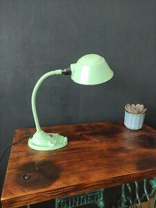 Art Deco Enamelled Desk Lamp