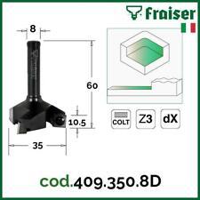 Planfräser CNC Oberfraeser Schaft Fräser für Holz TORNADO by Fraiser