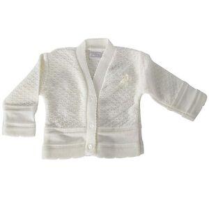 Rosetta Baby Girl White or Cream Pex Cardigan 0/3 3/6 6/9