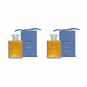 2X Aromatherapy Associates Relax Bath and Shower Oil 1.86oz, 55ml Deep Relax