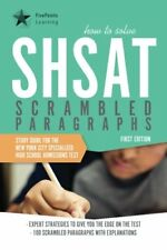 How to Solve SHSAT Scrambled Paragraphs: Study Gui