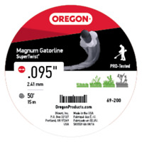 Oregon 69-200 Super-Twist Magnum Gatorline String Trimmer Line .095-Inch