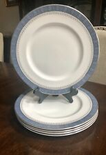 Royal Doulton china Sherbrooke H 5009 pattern Dinner Plates 5 Available 10.5�