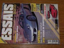 $$$ Revue Essais auto N°2 Porsche Carrera GTFord MustangAutoradio et GPS