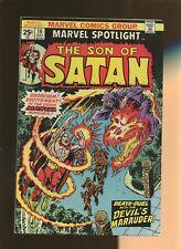 Marvel Spotlight 16 FN+ 6.5 * 1 Book * Son of Satan! Marvel! Gerber & Mooney!