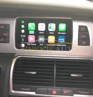 Wireless Apple CarPlay Navigation Camera Interface Audi Q7 2009-2015 GPS MMI