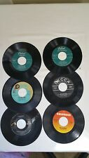 VINTAGE 45 RPM RECORDS JACKIE GLEASON BOZ SCAGGS AL HIBBLER