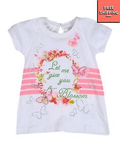 GAIALUNA PRECIOUS T-Shirt Dress Size 6M Printed & Embellished Ruffle Back