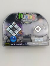 Rubiks Cube Revolution With Micro Edition Key Chain 6 Electronic Games NIB