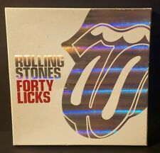 Rolling Stones Forty Licks Special Limited Edition Cd Box Set 2 CDs W/Book
