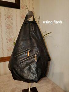 Rebecca Minkoff Backpack Leather Black HH17GJMX67