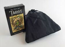 Cool Detailed Art TAROT CARDS Unique Dark Deck with Fabric Drawstring Bag