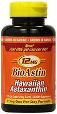 Nutrex BioAstin Hawaiian Astaxanthin 12 mg Supplement 120 gel Caps *Ships Free*