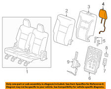 GMC GM OEM 17-18 Acadia Third Row Seat-Headrest Head Rest 84282414