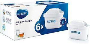 BRITA Filtri MAXTRA+ Pack 6, Cartucce per Caraffe Filtranti
