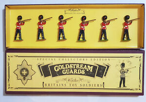 Britains 8800 Coldstream Guards 6 Pieces Standing & Firing. New in Original Box