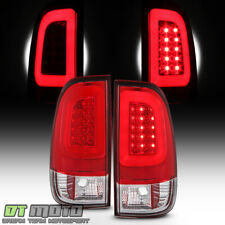 New Red 1997 2003 Ford F150 99 07 F250 F350 Superduty Led Tube Tail Lights Lamps Fits 1997 Ford F 150