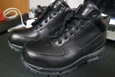 Nike Air Max Goadome ACG Men's Size 8 Black Leather Boots 2013 599474-050