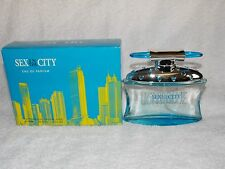 Sex In The City LIGHT BLUE Eau De Parfum Natural Spray 3.3 oz/100mL New
