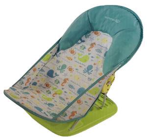 Summer Infant Deluxe Baby Bather- Folding Bath SlingTub Sink 3 Position New