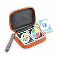 YSAGi Travel Carrying Case for UNO Card Game Fit up to 150 Cards, Soft Cloth Wat