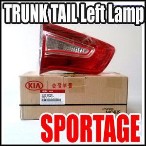 KIA SPORTAGE R 2011~2013 Genuine Rear Trunk Left Lamp Assembly 1EA  924053W000