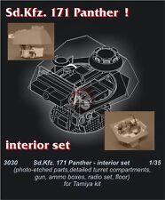 CMK 1/35 Sd.Kfz.171 Pz.Kpfw.V Panther Ausf.G Interior Set (for Tamiya kit) 3030