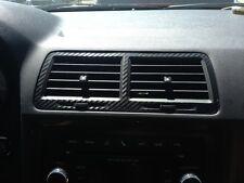 Dodge Challenger 3 Piece Heat and AC Vent Carbon Fiber Look Overlays SRT-8 RT SE