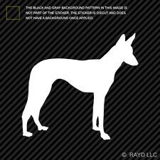(2x) Ibizan Hound Sticker Die Cut Decal Self Adhesive Vinyl dog canine pet
