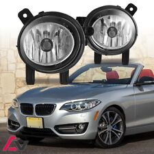 12-19 For BMW Clear Lens Pair Bumper Fog Light Lamp OE Replacement DOT Bulbs