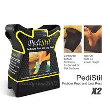 2 PediStil Pedicure Manicure Professional Spa Salon Foot Hand Arm Feet Leg Rest